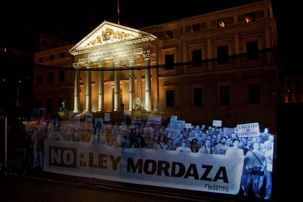 Spain_Hologram_Protest_2